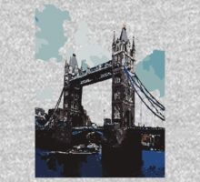 London Tower Bridge UK One Piece - Long Sleeve