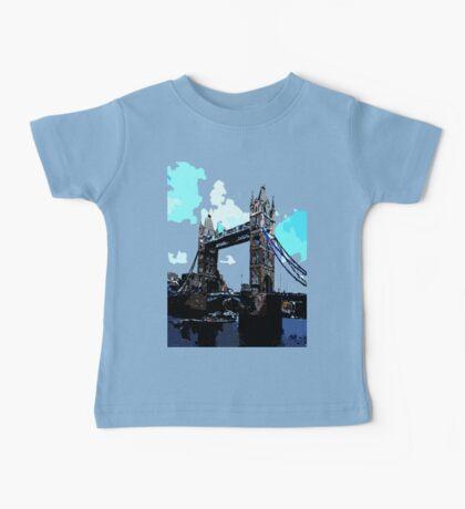 London Tower Bridge UK Baby Tee