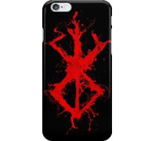 Berserk - Sacrifice - splatter version iPhone Case/Skin