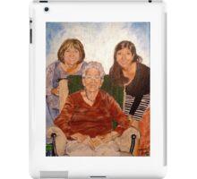 Three Generations  iPad Case/Skin