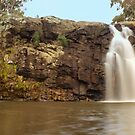 Turpins Falls (panorama) by Yvonne Mitchell