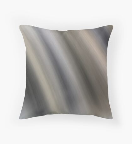 Abstract Falls Throw Pillow