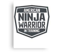 American Ninja Warrior in Training Canvas Print
