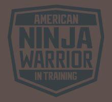 American Ninja Warrior in Training Baby Tee