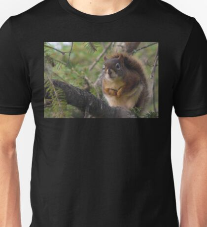 """Red Squrril  """"I See That Cat Watching Me"""" Unisex T-Shirt"""