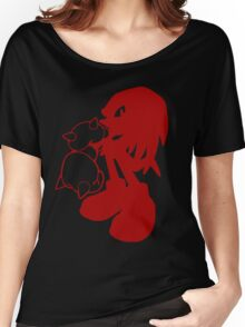 Knucklepunched (Red) Women's Relaxed Fit T-Shirt
