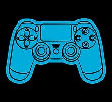 Gamer- blue by Lauramazing