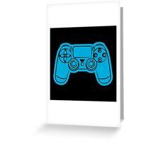 Gamer- blue Greeting Card