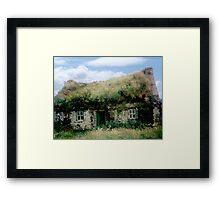 Irish Cottage - Bolus Head, Co. Kerry Framed Print