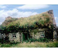 Irish Cottage - Bolus Head, Co. Kerry Photographic Print