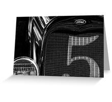 Four Fifths Ford Greeting Card