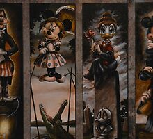 Disney Halloween Haunted Mansion Stretching Portraits by notheothereye