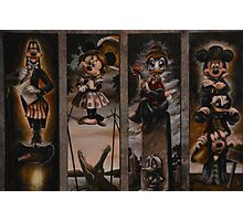 Halloween Haunted Mansion/Haunted House Stretching Portraits Photographic Print