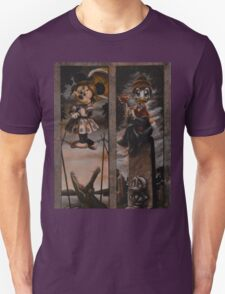 Halloween Haunted Mansion/Haunted House Stretching Portraits T-Shirt