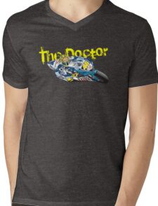 The Doctor. Valentino Rossi Mens V-Neck T-Shirt