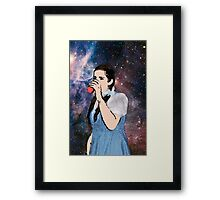 space party Framed Print