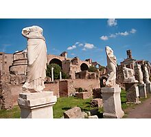 Vestal Virgins Photographic Print
