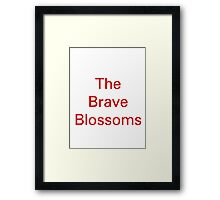 The Brave Blossoms - Japan rugby union Framed Print