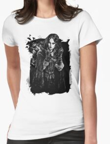 Yennefer - The Witcher Wild Hunt Womens Fitted T-Shirt