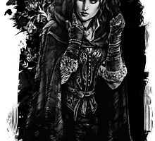 Yennefer - The Witcher Wild Hunt by JustAnor