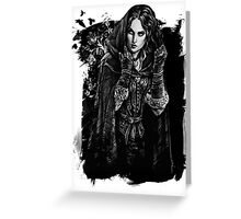 Yennefer - The Witcher Wild Hunt Greeting Card