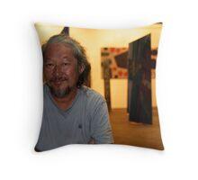 Art Exhibition in Nai Harn Throw Pillow