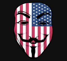 Guy Fawkes American Flag T-Shirt