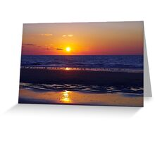 Just another Sunset for Jonathan Greeting Card