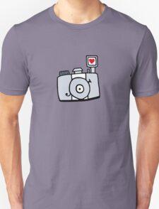 Adjust Your Focus - Grey T-Shirt