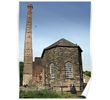 Engine House at Middleton Top Poster