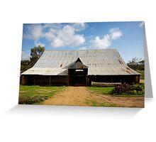 historyscapes #137, big barn Greeting Card