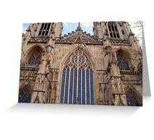Architectural Genius - York Minster Greeting Card