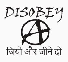 DISOBEY, LIVE AND LET LIVE One Piece - Long Sleeve