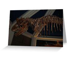 Monstrous Carnotaurus Greeting Card