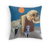 Spaceflight. 'Still in the silent Zone' frame 6 Nelly's artwork. Throw Pillow