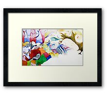 Monday Framed Print