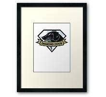 Diamond Dogs (MGSV) Framed Print