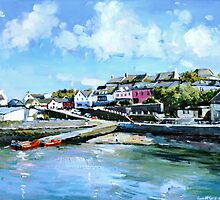 Baltimore Harbour in County Cork, Ireland by conchubar