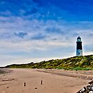 Spurn Point Lighthouse by Trevor Kersley