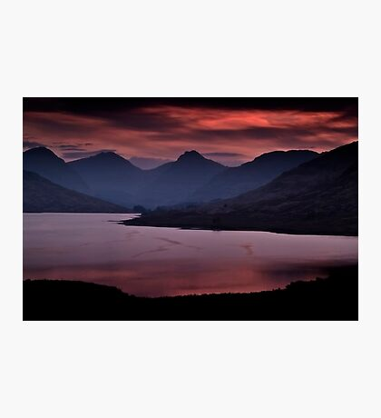 Red Sky At Night. Photographic Print