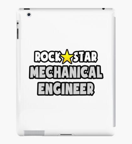 Rock Star Mechanical Engineer iPad Case/Skin