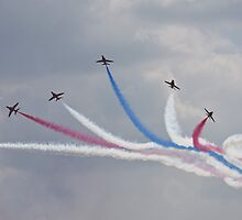 Ladies and Gentlemen, The Red Arrows by PhilEAF92
