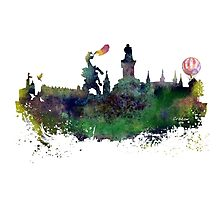 Cracow skyline Photographic Print