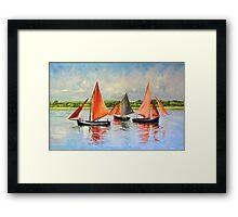 Galway Hookers Framed Print