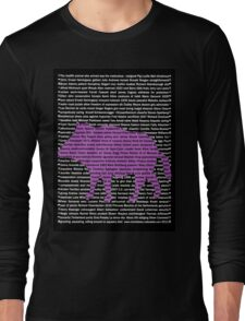 """""""The Year Of The Pig / Boar"""" Clothing Long Sleeve T-Shirt"""