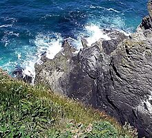 The Cliffs of St. Ives by © Loree McComb