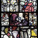 Stained Glass window (ii) by Merice  Ewart-Marshall - LFA