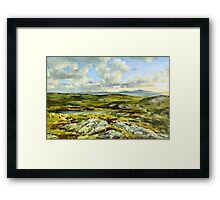 Inishowen Penninsula in County Donegal, Ireland. Framed Print