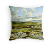 Inishowen Penninsula in County Donegal, Ireland. Throw Pillow
