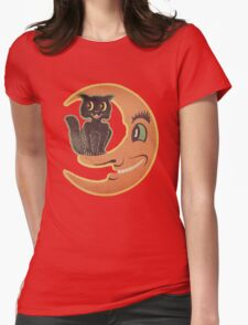 Black Cat Moon T-Shirt